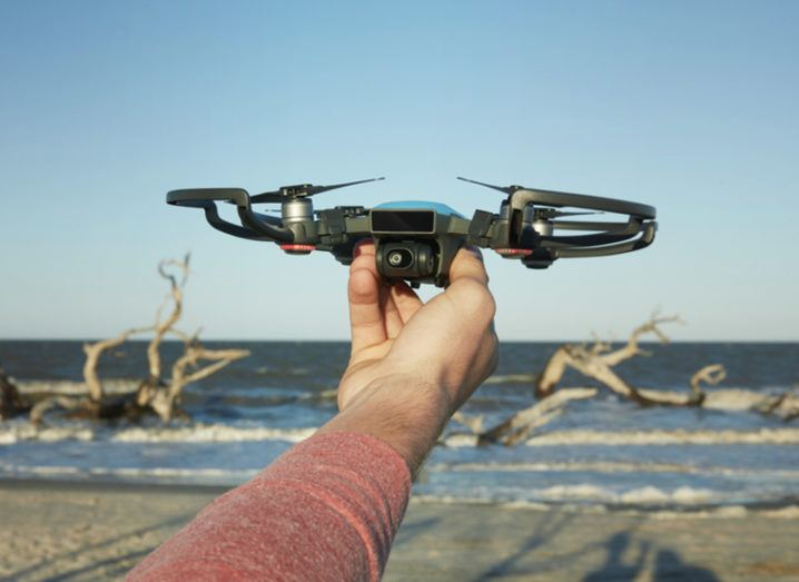 DJI Spark drone. All images: DJI