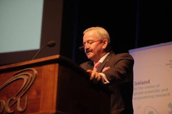 Prof Reimund Neugebauer, president, Fraunhofer-Gesellschaft, speaking at DCU