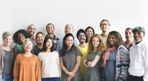 Recruitment start-ups: group of candidates
