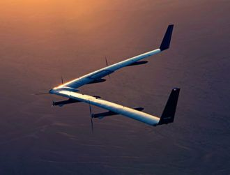 Facebook's giant Aquila drone soars for almost two hours, lands safely