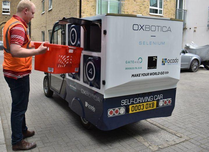 Autonomous grocery van