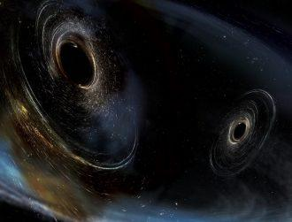 Third gravitational wave detected, revealing massive black hole collision