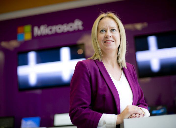 Shirley Finnerty, Windows and devices business group lead, Microsoft Ireland
