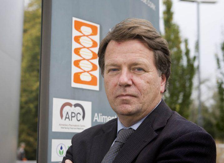 Fergus Shanahan, director at APC Microbiome. Image: Tomas Tyner,UCC.