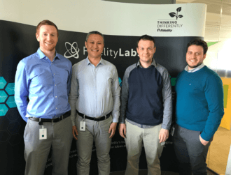 Fidelity's Irish iLab team envisions the future of work through a VR lens