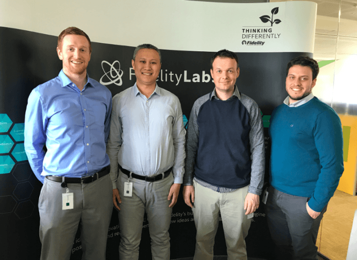 Fidelity's Irish iLab team envisages the future of work through a VR lens