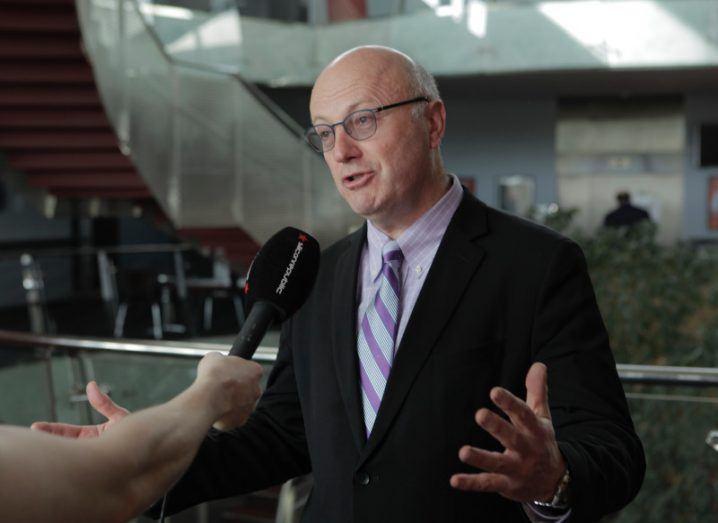 Prof Mark Ferguson, director general, Science Foundation Ireland