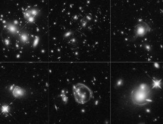 Peekaboo: Hubble zooms in on some of the brightest galaxies