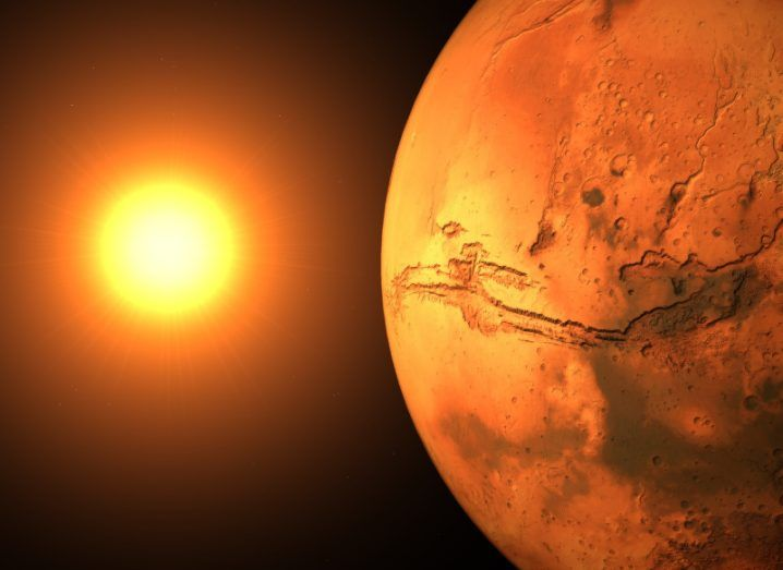 Mars. Image: Yaroslav Vakulenko/Shutterstock