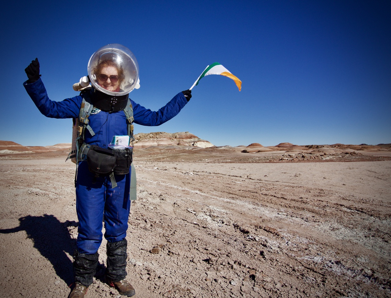 What would it be like to live on Mars? Dr Niamh Shaw has a good idea