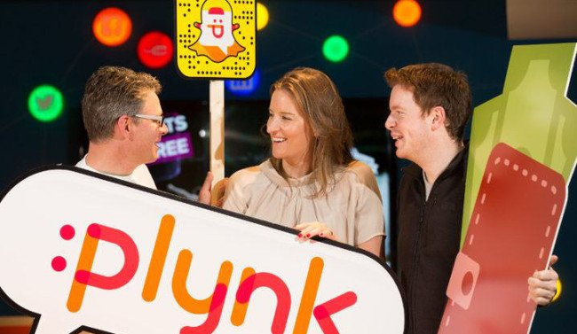 From left: Charles Dowd, Plynk; Lesley Tully, Bank of Ireland; and Clive Foley, Plynk. Image: Naoise Culhane