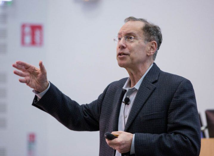 Prof Robert Langer, David H Koch Institute Professor at MIT. Image: Sean Curtin True Media.