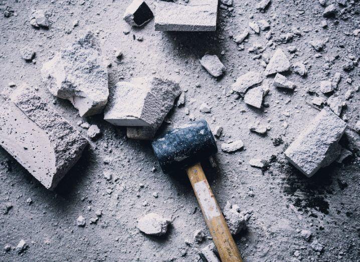 Hammer blow. Image: Whyframe/Shutterstock