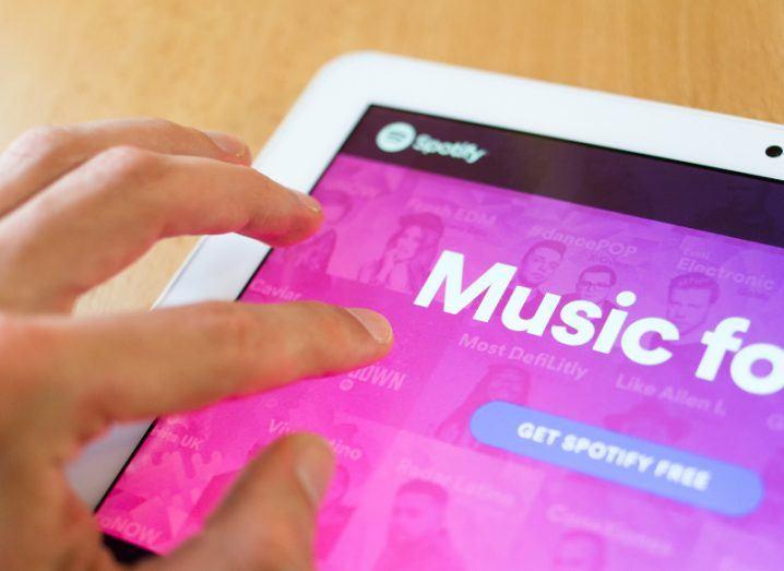 Spotify. Image: M-SUR/Shutterstock