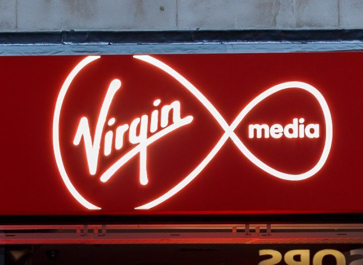 Virgin Media. Image: Jason Batterham/Shutterstock