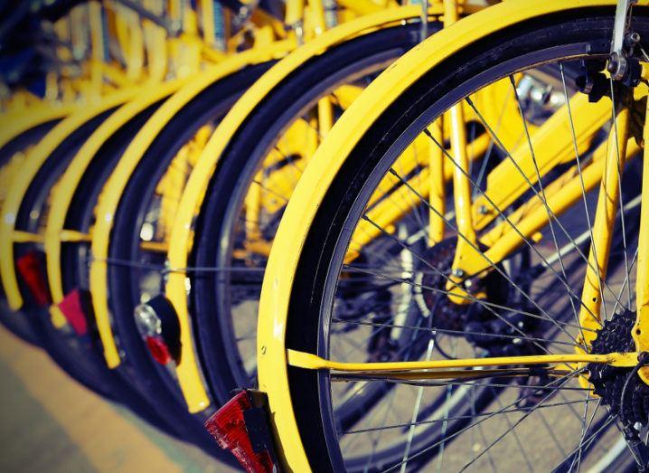 Bike sharing. Image: ChiccoDodiFC/Shutterstock