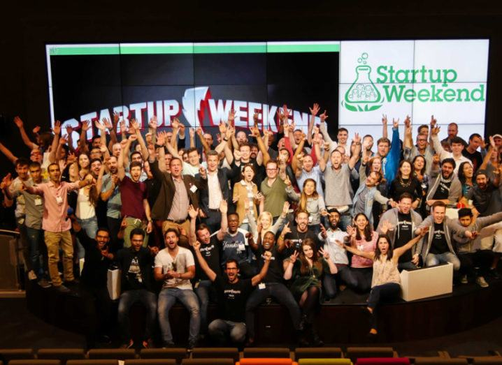 Super T and 104 entrepreneurs make Startup Weekend in Dublin sizzle