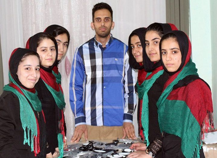 Afghanistan's all-girl robotics team lands in DC after visas denied twice