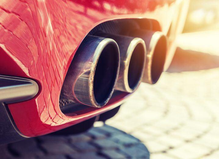 Car exhaust. Image: cla78/Shutterstock