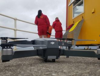 Is it a bird, is it a plane? No, it's a lifeguard drone at Spanish Point