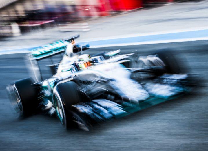Formula 1 driver Lewis Hamilton in his Mercedes. Image: MrSegui/Shutterstock