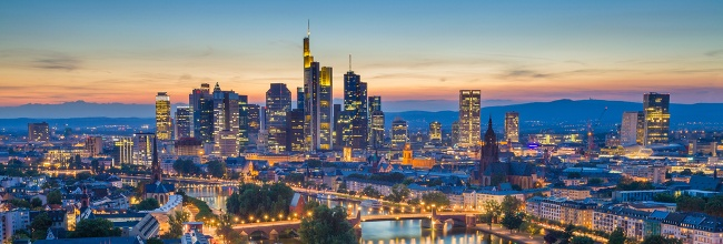 Frankfurt. Image: Rudy Balasko/Shutterstock
