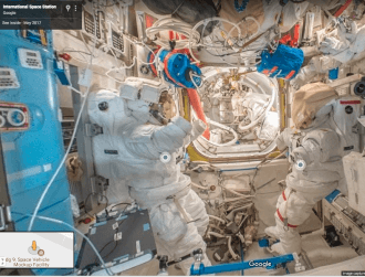 Google Maps brings Street View to the International Space Station