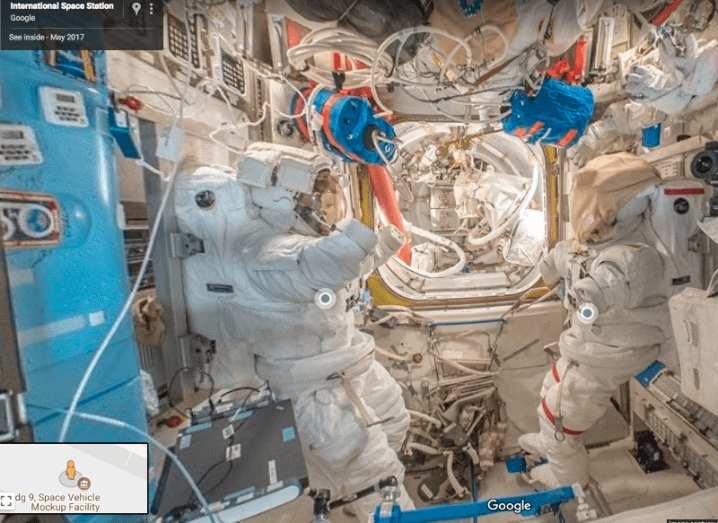 Google Maps brings Street View to International Space Station