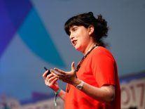 Sugru's Jane Ní Dhulchaointigh talks sticky ideas at Inspirefest 2017