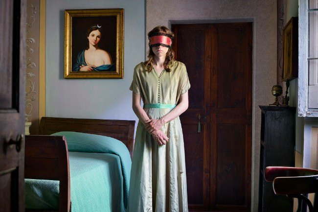 Blindfold, 2016. Image: Lissa Rivera. Portrait Series Winner, Magnum and LensCulture Photography Awards 2017.