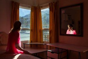 Aloha Hotel, Palm Springs, 2017. Image: Lissa Rivera. Portrait Series Winner, Magnum and LensCulture Photography Awards 2017.