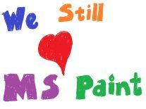 Reports of MS Paint's death have been greatly exaggerated