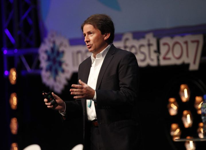 Marcus Weldon President, Bell Labs, and corporate CTO, Nokia. Image: Conor McCabe Photography