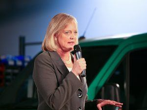 Meg Whitman says she has no Uber plans to vacate helm of HPE