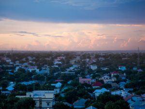 Dusk over Mogadishu