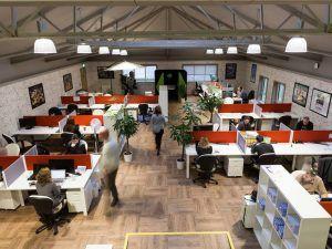 Ludgate Hub working space. Image: Ludgate Hub