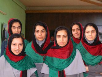 Afghan girls robotics team devastated after US visa denied for competition