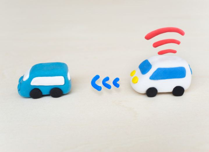 Autonomous cars made from modelling clay
