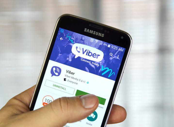 Viber. Image: dennizn/Shutterstock