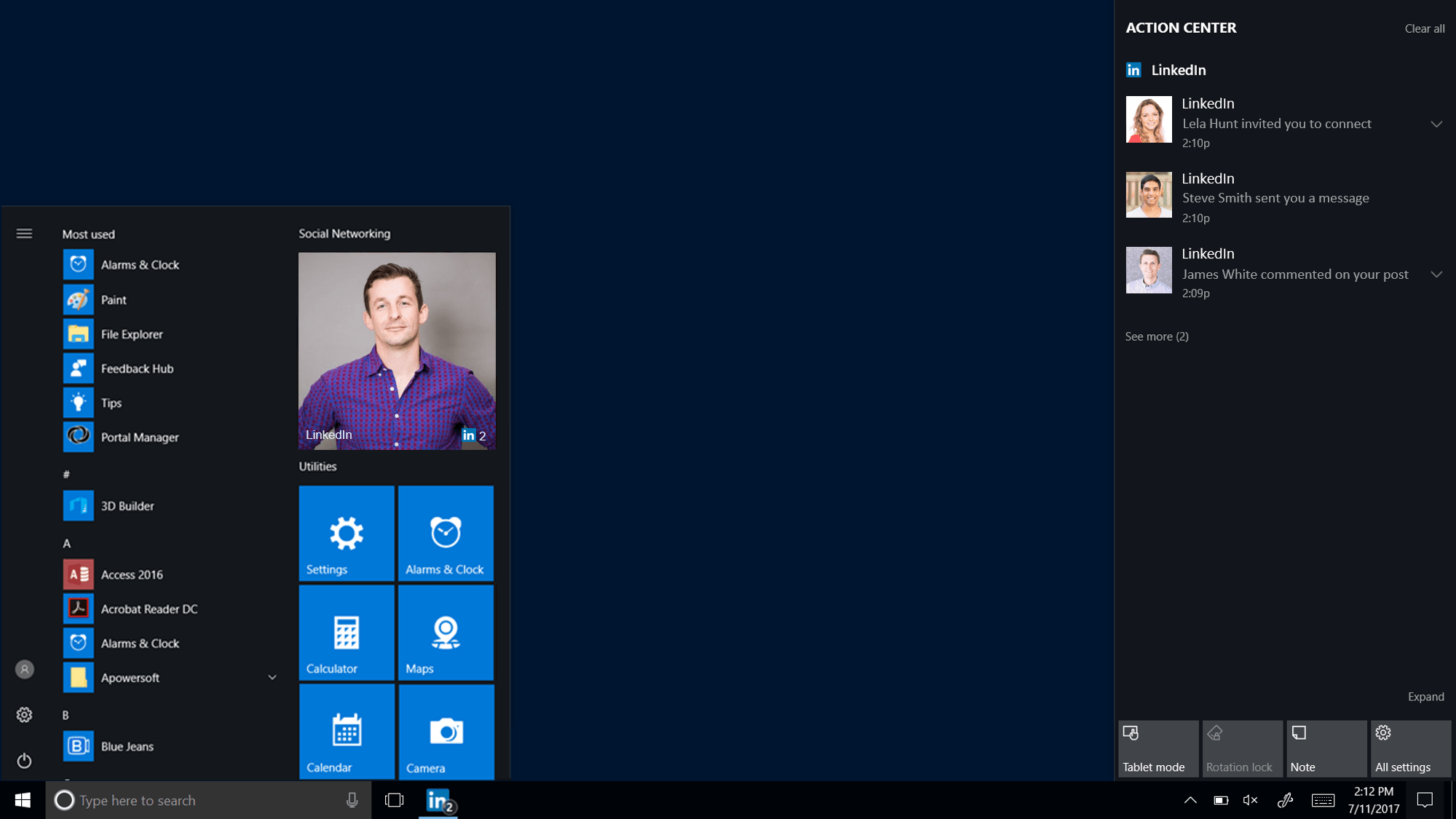 Dedicated Linkedin app is coming to Windows 10