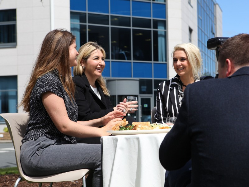 Women entrepreneurs gather through Dell EMC and GirlCrew Supper Club