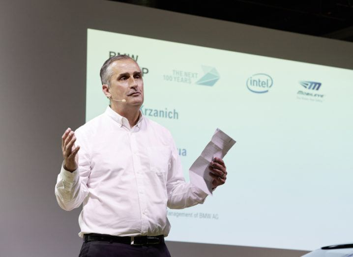 Intel is firing on all cylinders as it gears up for autonomous driving future