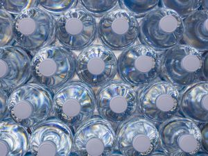 How else could we possible drink water, if not from a plastic bottle? Image: R.Kido/Shutterstock