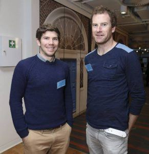 Aidan Quilligan (left) and Declan Murphy, co-founders of Clubify. Image: NDRC
