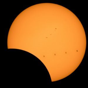 Eclipse and the ISS