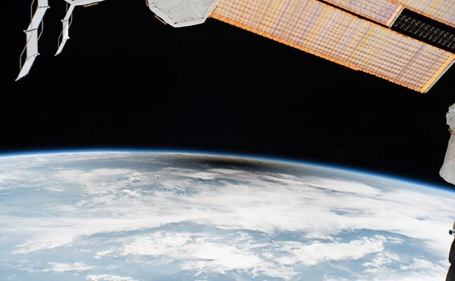 Eclipse from ISS