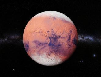 Scientists discover that Mars experiences blizzards during frozen nights