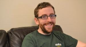 Senan Quinn, support engineer, Amazon Web Services