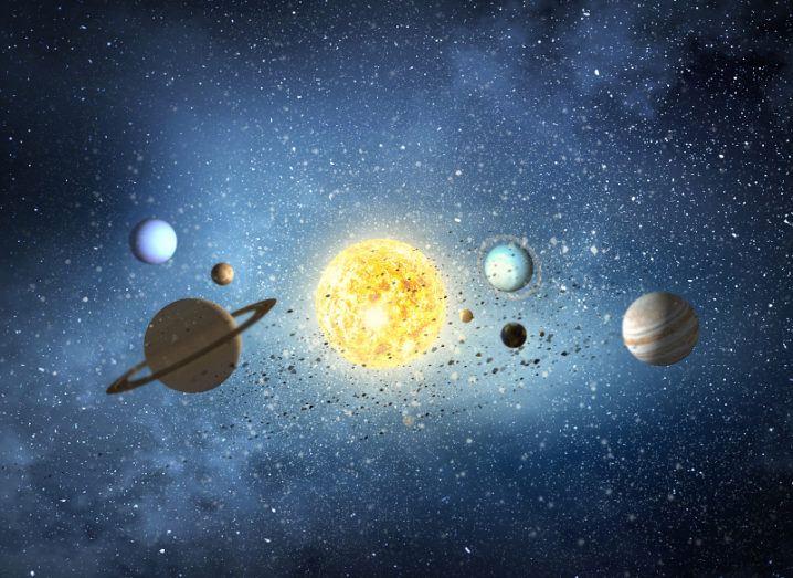 Solar system. Image: Sergey Nivens/Shutterstock