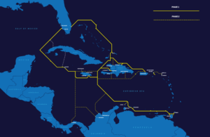 Deep Blue cable map